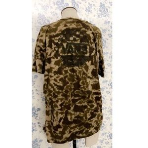 Women's vans pocket Camo T-shirt